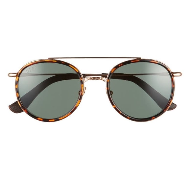 DIFF x Star Wars Boba Fett 52mm Polarized Round Sunglasses