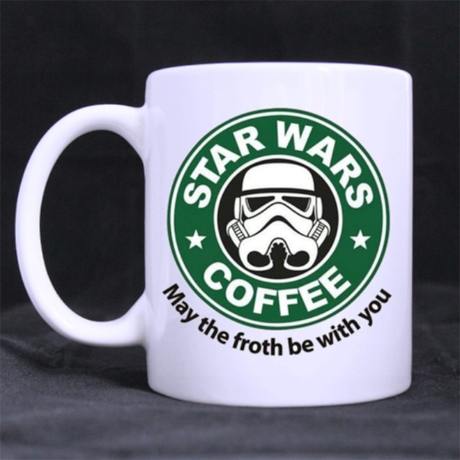 May The Froth Be With You Star Wars Mug