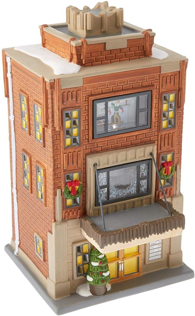 Department 56 Elf The Movie Village Buddy's Apartment Lit House