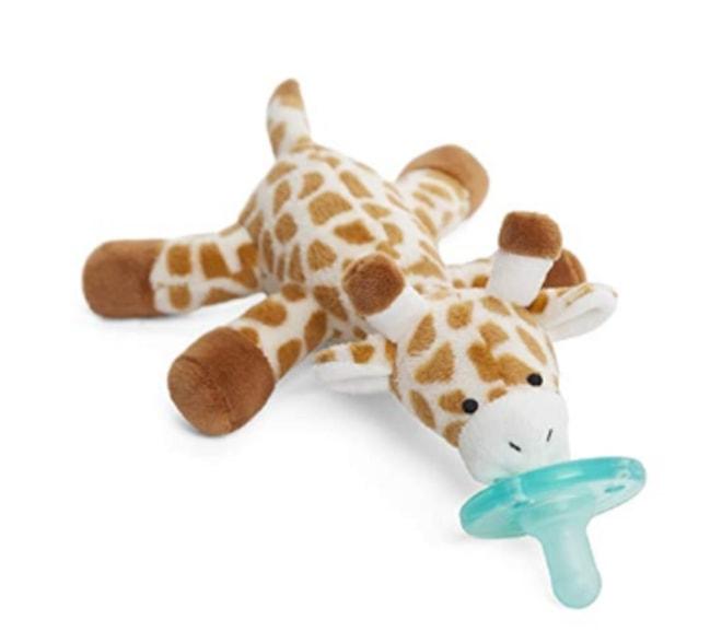 Wubbanub Infant Pacifier ~ Giraffe