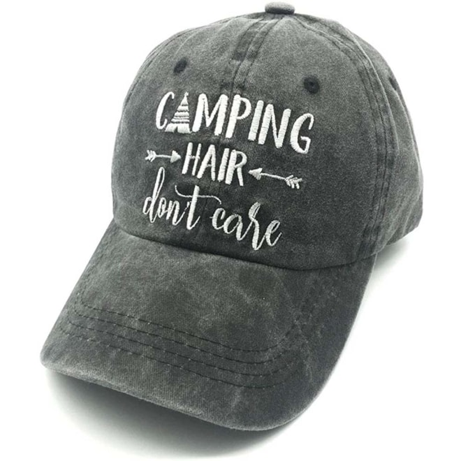 Camping Hair, Don't Care Hat