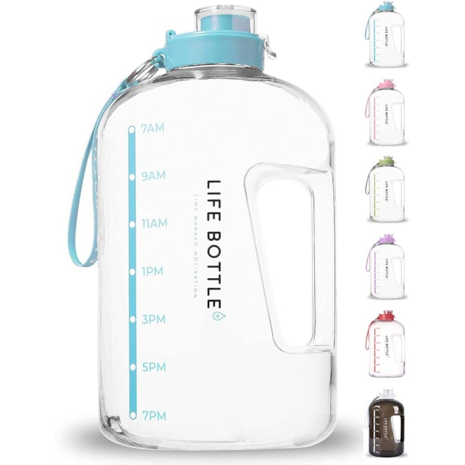 Time Marked 1 Gallon Water Bottle