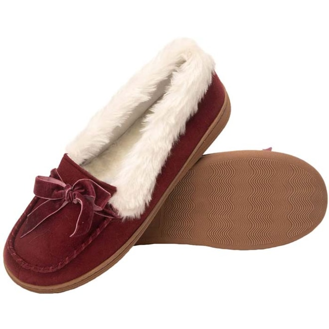 Micro Suede Moccasin
