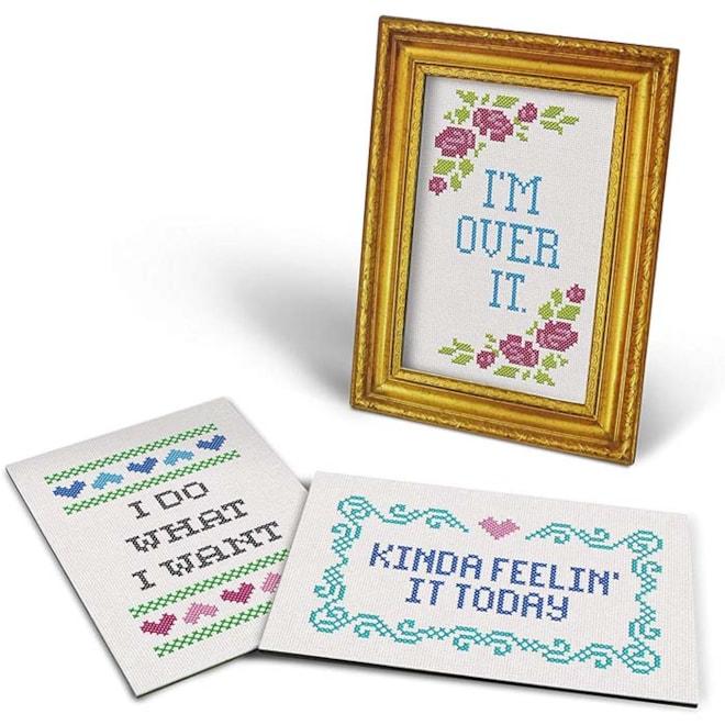 Daily Sampler 16 Card Frame