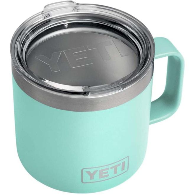 YETI Rambler 14 oz Stainless Steel Insulated Mug with Lid