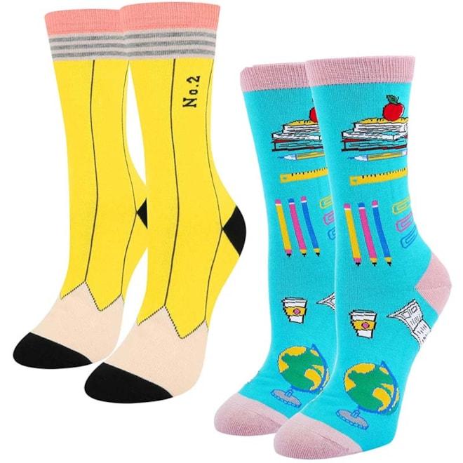 Teacher School Socks