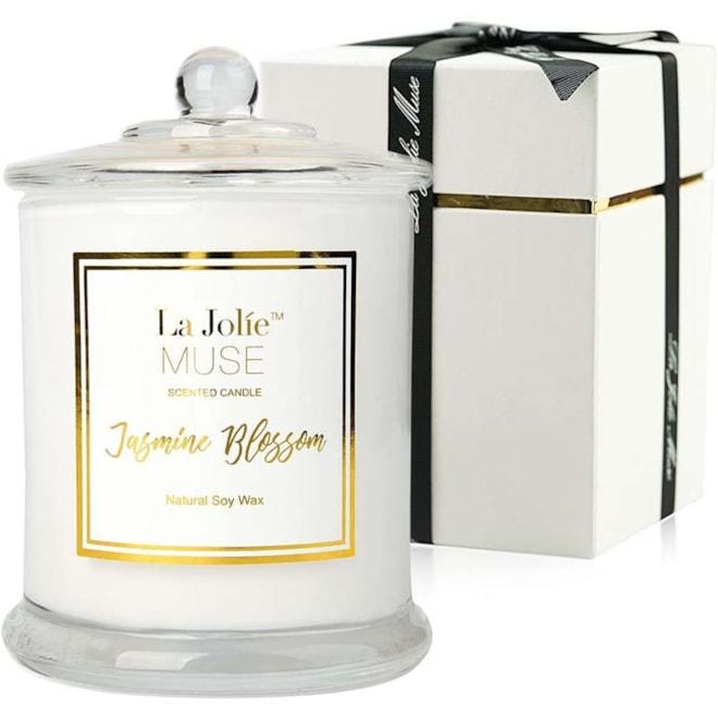 La Jolie Muse Jasmine Scented Candle