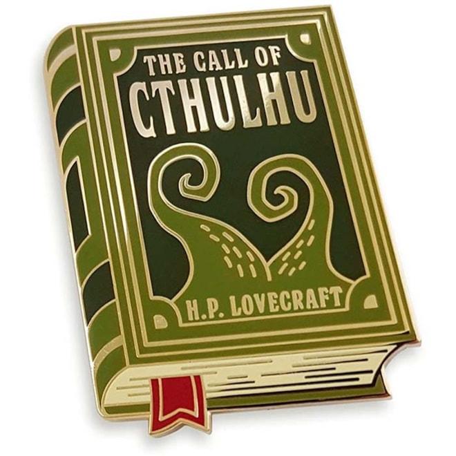 H.P. Lovecraft Cthulhu Enamel Pin