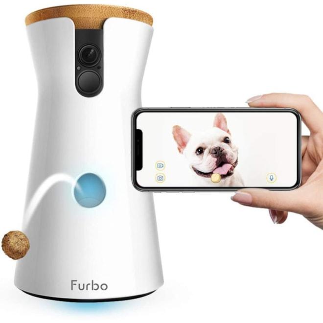 Dog Camera Furbo Treat-Tossing