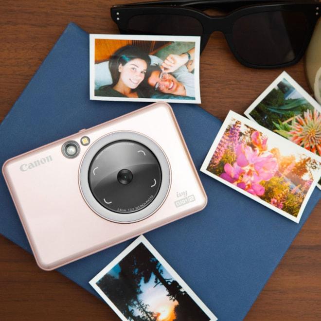 Canon Ivy Cliq + 2 Instant Film Camera