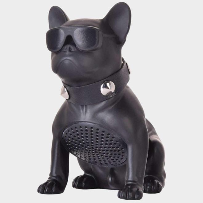 Mad Man Black Bluetooth Bulldog Speaker