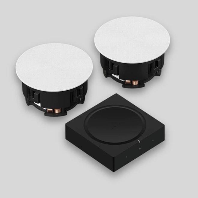 Sonos In-Ceiling Speaker Set and Amp