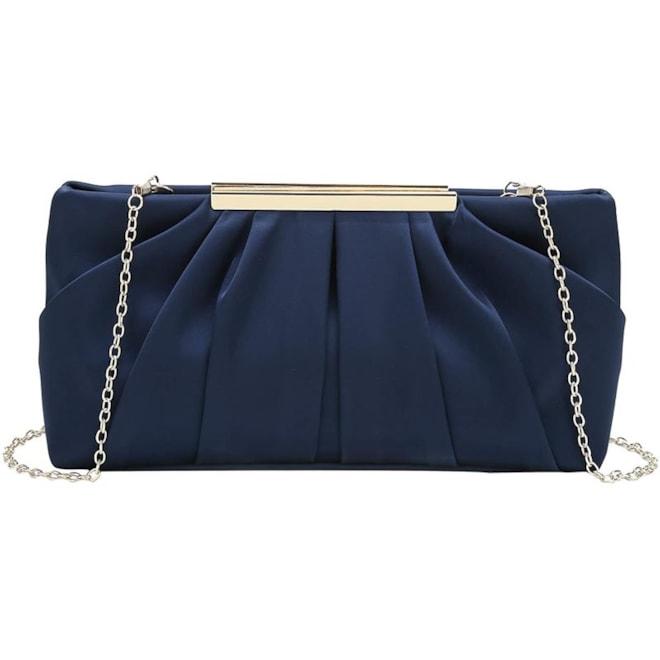 Satin Clutch Evening Bag
