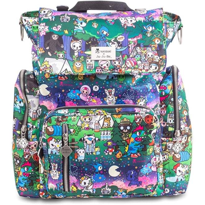JuJuBe x Tokidoki Diaper Backpack