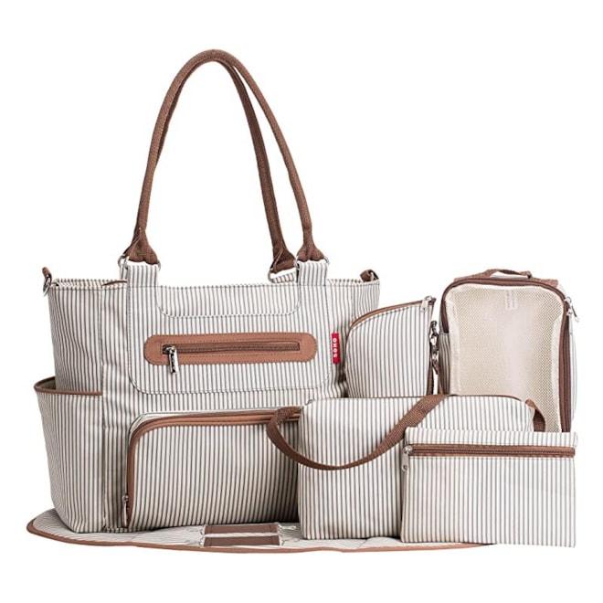 SoHo Collection Diaper Bag Set