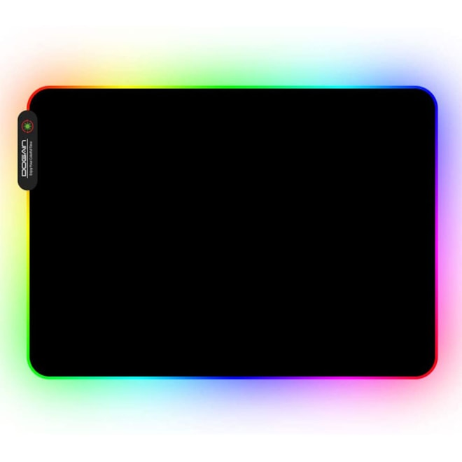 RGB Gaming Mouse Pad with 11 RGB Light up Modes,LED Gaming Pad,Non-Slip