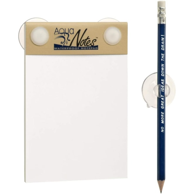 Shower Aqua Notes Water Proof Note Pad