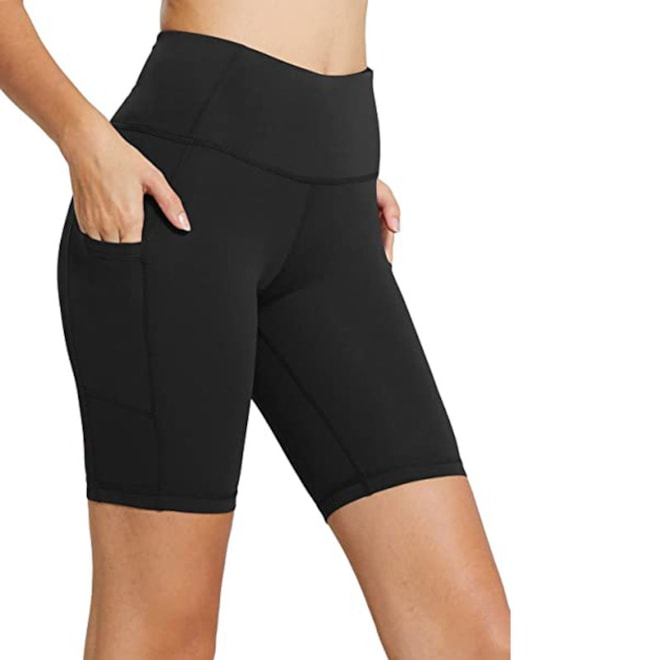 High Waist Tummy Control Workout Shorts