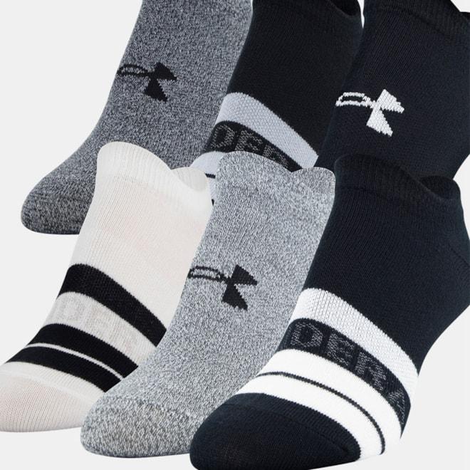 Women's UA Essentials No Show Socks
