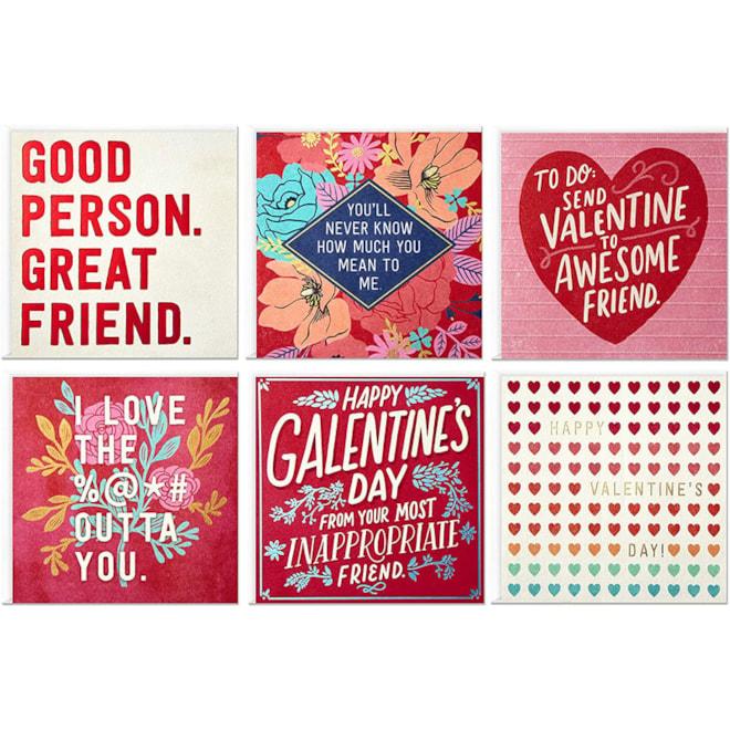 Valentines Cards Set Hallmark