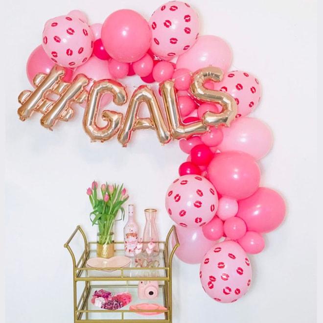 Galentine Balloons Set