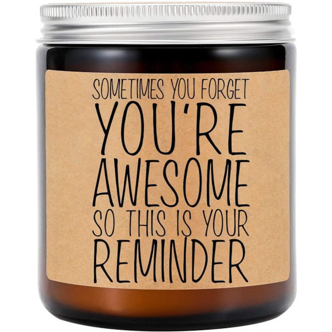 You're Awesome Candle