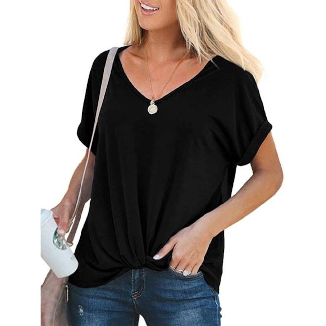 Rolled Short Sleeve T Shirt