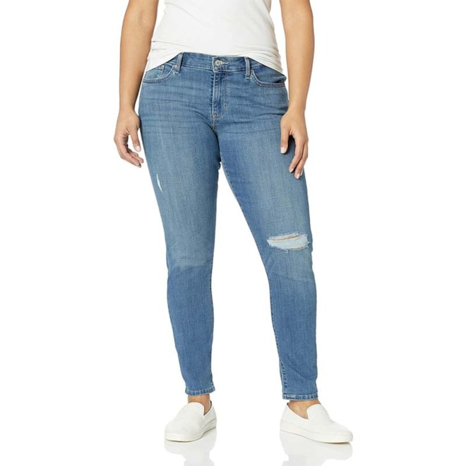 Levi's 711 Indigo Jeans (Plus and Reg)