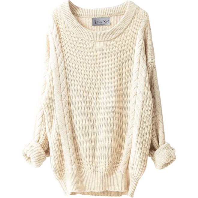 Cashmere Oversized Loose Knitted Sweater