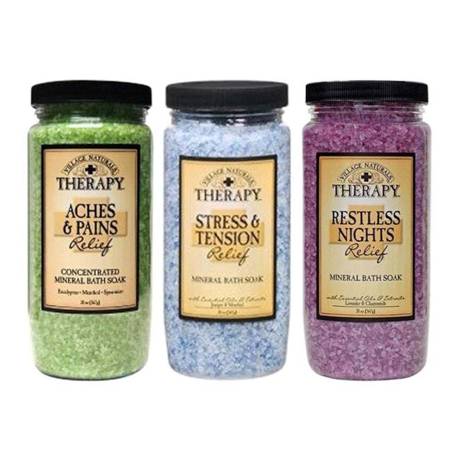 Mineral Bath Soak Variety Set