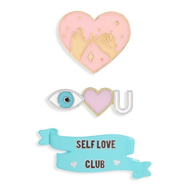 Love Enamel Pin Set