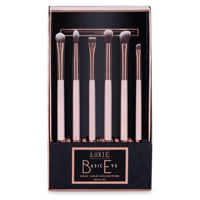 Luxie Rose Gold Eye Brush Set
