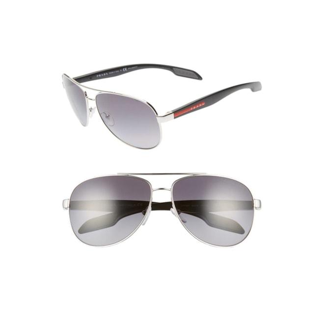 Prada Polarized Aviator Sunglasses