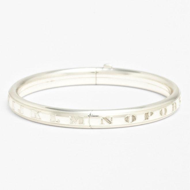 Sterling Silver Alphabet Bracelet (Infant) | Nordstrom