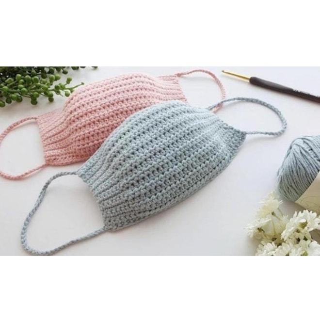3-Size Crochet Face Mask Pattern