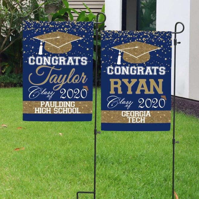 Graduation Garden Flag 2020