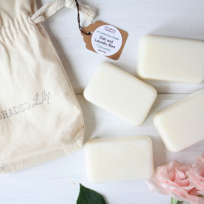 Laundry Bar Soap / Eco Friendly Green Cleaners