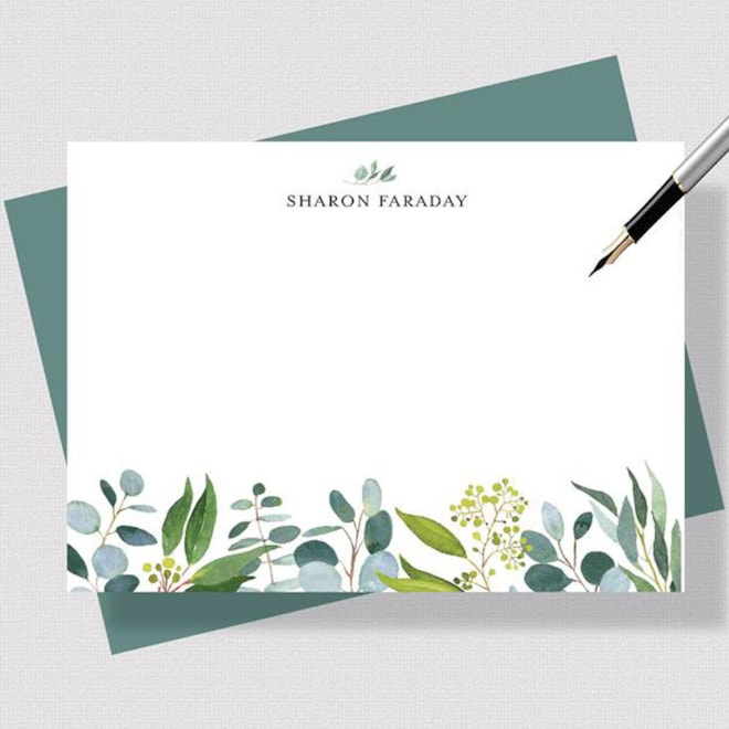 Personalized Stationery Note
