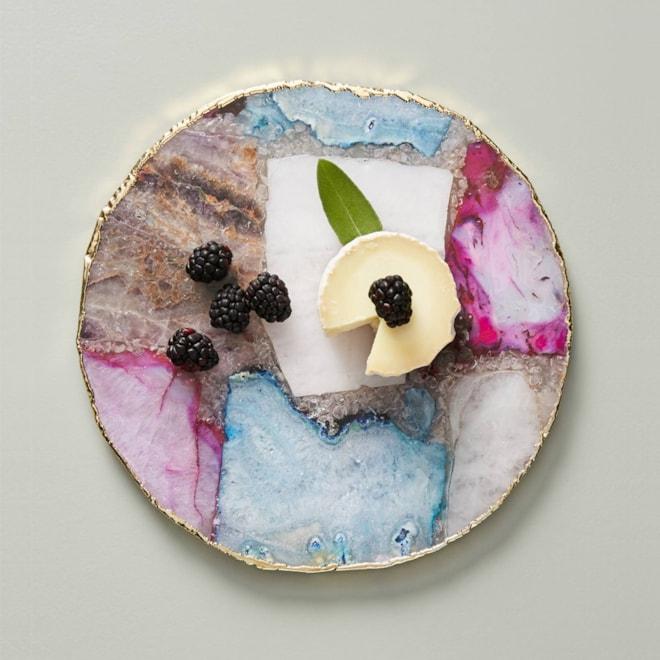 Composite Agate Cheese Board