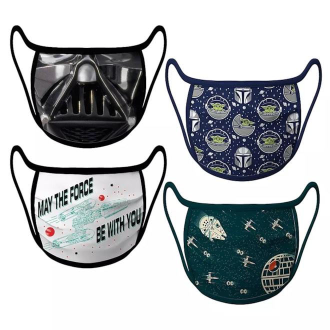 Star Wars Cloth Face Masks 4-Pack Set