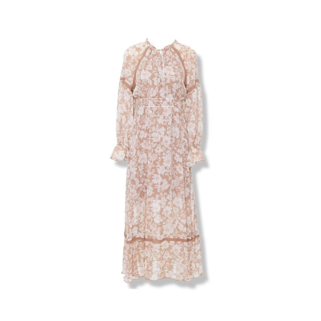 Chiffon Floral Prairie Dress