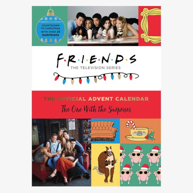 Friends Holiday Advent Calendar Book