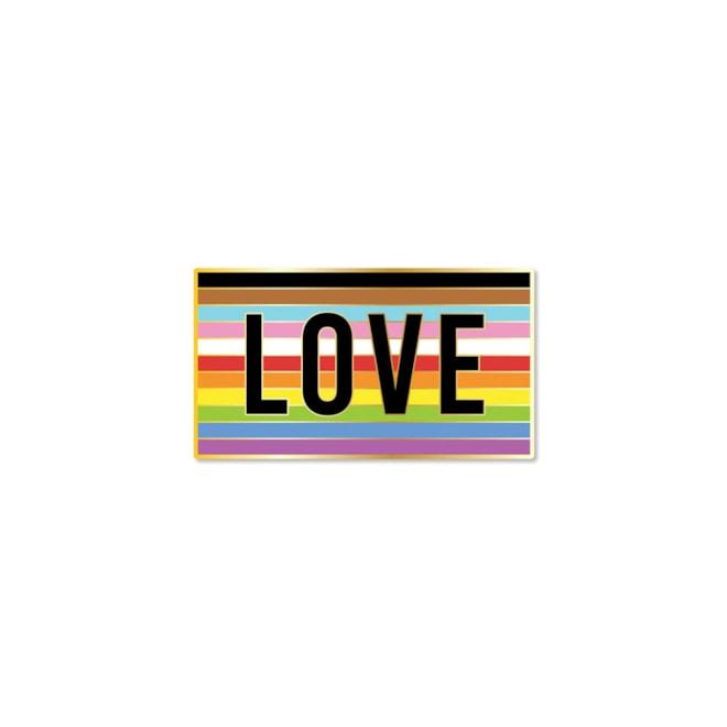 LOVE Enamel Pin Hot Topic Foundation