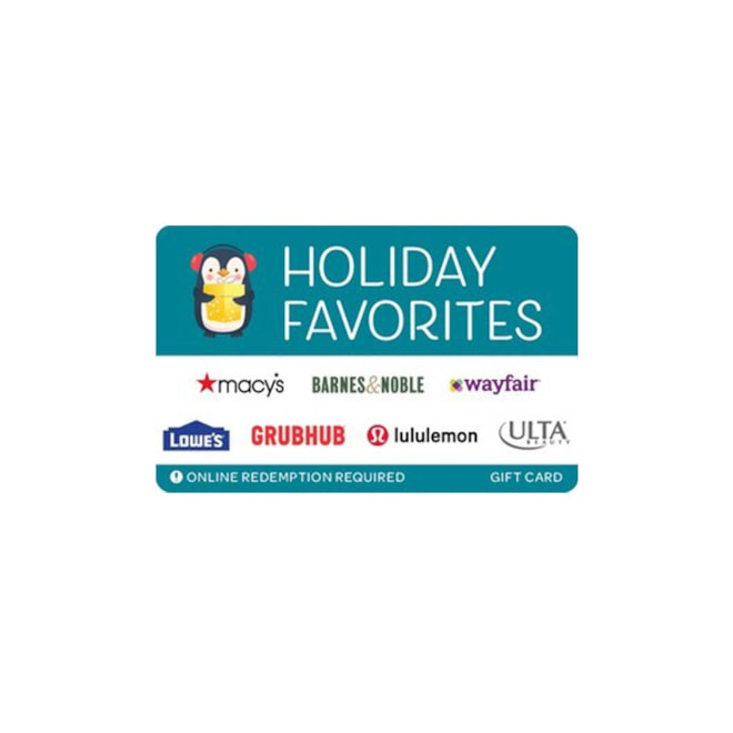 Holiday Favorites Multi Store Gift Card