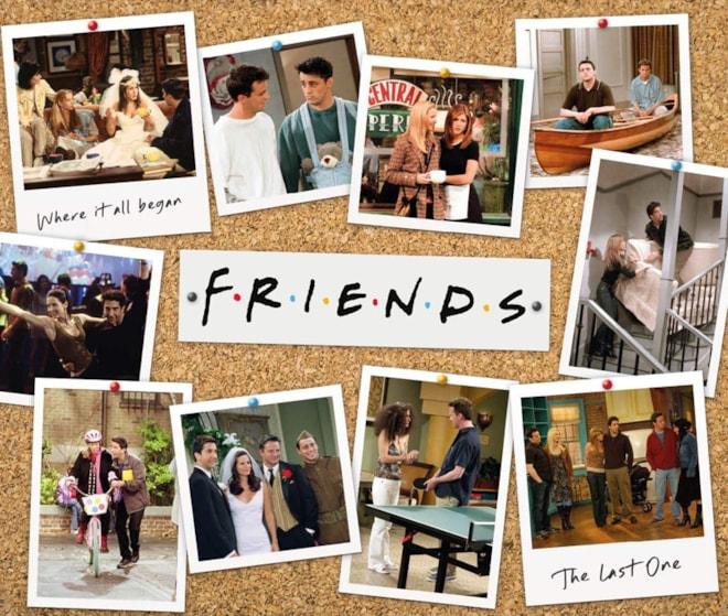 Friends Jigsaw 1000pcs Seasons USA