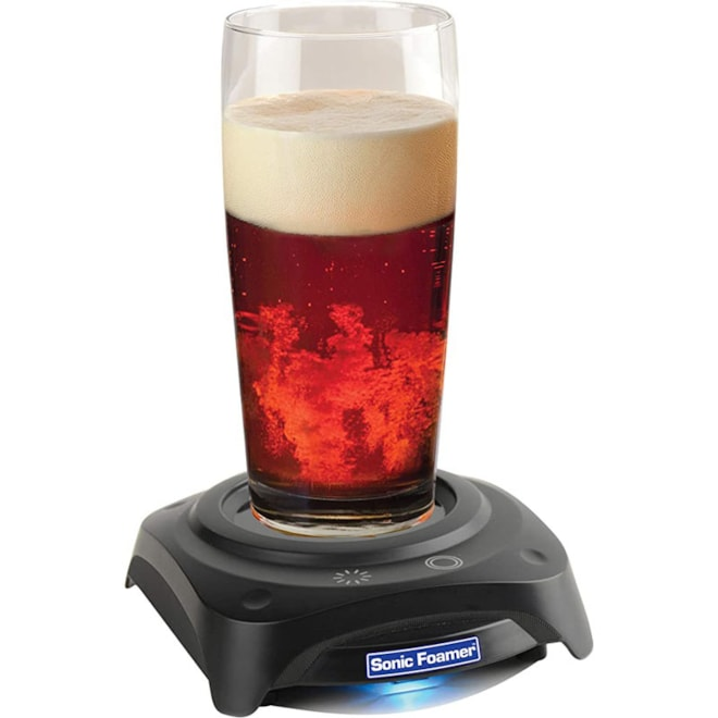 Beer Aerator - Sonic Foamer Uses Sound Waves To Create The Perfect Beer Head - Release The Full Arom