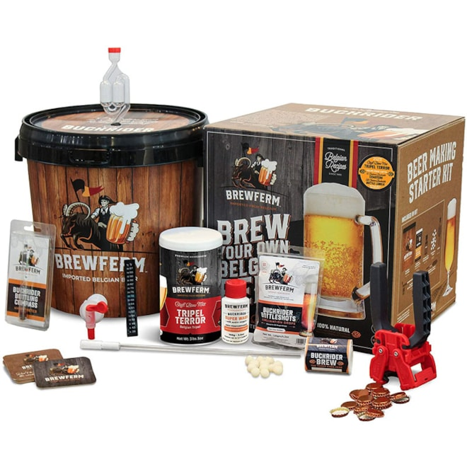 Belgian Homebrewing Premium Deluxe Brew Kit