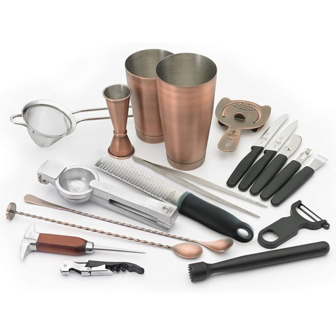 12 Piece Deluxe Barfly Mixology Cocktail Set