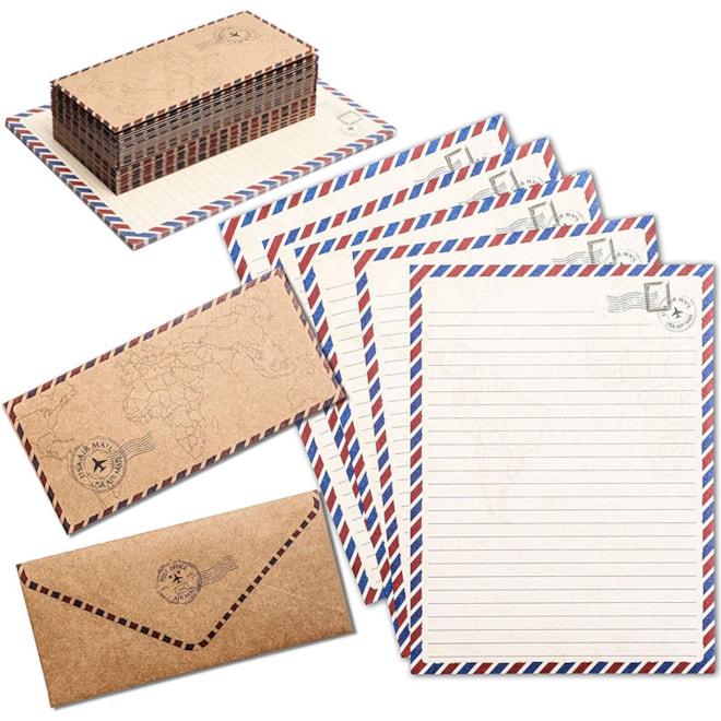 Vintage Stationery Paper Set