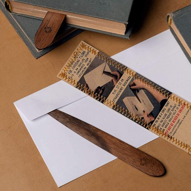 Letter Opener & Bookmark